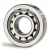 LRJ1J RHP Cylindrical Roller Bearing 1''x2 1/4''x5/8''
