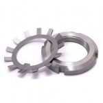 Bearing Lock Nuts and Tab Washers