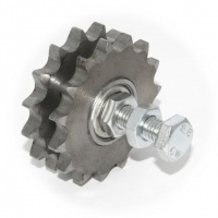 N5/8-12D Rosta 5/8'' Pitch Duplex Sprocket Wheel Set for Chain Tensioners