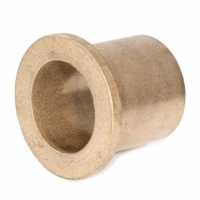 AL101520 Oil Filled Sintered Bronze Flanged Bush 10x15x20 FCM32-20