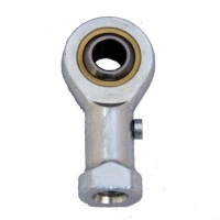 GIL5 5mm Female Rodend Bearing M5 Left Hand Steel/Brass - Fluro