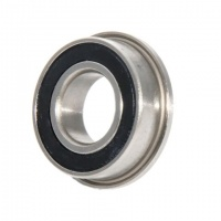 F608-2RS EZO Flanged Miniature Bearing 8x22x7 Sealed