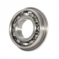 SF684 Flanged Stainless Steel Miniature Bearing 4x9x2.5 Open