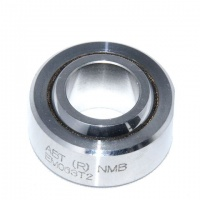 ABT8-2003 NMB 1/2'' Spherical Bearing Stainless Steel/PTFE - Chamfer Type