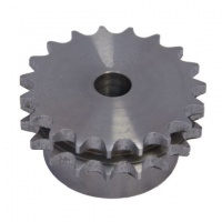 6DR21 Sprocket - Pilot Bore 3/4'' Pitch Duplex 21 Teeth
