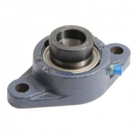 SFT30DEC RHP 2 Bolt Flange Housed Bearing Unit - 30mm Shaft