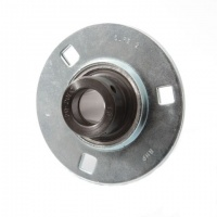 SLFE15EC RHP Pressed Steel Flange Bearing Unit - 15mm Shaft
