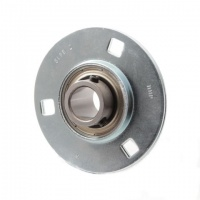 SLFE16 RHP Pressed Steel Flange Bearing Unit - 16mm Shaft