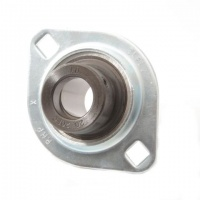 SLFL25EC RHP Pressed Steel Flange Bearing Unit - 25mm Shaft