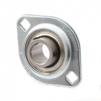 SLFL7/8 RHP Pressed Steel Flange Bearing Unit - 0.875'' Shaft