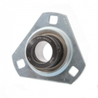 SLFT30EC RHP Pressed Steel Flange Bearing Unit - 30mm Shaft