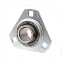 SLFT1-1/4 RHP Pressed Steel Flange Bearing Unit - 1 1/4'' Shaft
