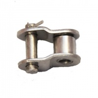 12B-1SS-NO12 Half Link - Cranked Link 3/4'' Pitch Simplex Stainless Steel
