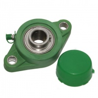 TP-SUCFL203 17mm Thermoplastic Flange Bearing Unit - LDK