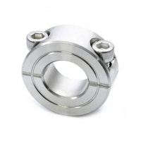 LC-3/4-SS Stainless Steel Double Split Shaft Collar 3/4'' (3/4''x1-1/2''x1/2'')