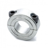 LC-1.1/2 Double Split Shaft Collar 1-1/2'' Zinc Plated Steel (1-1/2''x2-3/8''x9/16'')