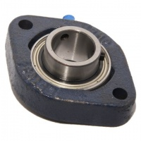 LFTC17 RHP 2 Bolt Flange Housed Bearing Unit - 17mm Shaft