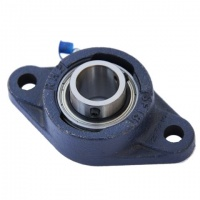 TSFT25 RHP Triple Seal 2 Bolt Flange Housed Bearing Unit - 25mm Shaft