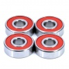CB-608-TW-2RU-P5-C3 Set of 4 Hybrid Skateboard Bearings 8x22x7