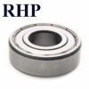 MJ1-ZZ (RMS8-ZZ) Imperial Deep Grooved Ball Bearing Metal Shields RHP 25.40x63.50x19.05 (1x2-1/2x3/4)