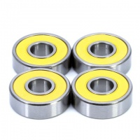 608-TW-2RU-P5-C3 Set of 4 High Quality Skateboard Bearings 8x22x7
