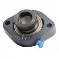 LFTC12EC RHP 2 Bolt Flange Housed Bearing Unit - 12mm Shaft