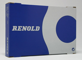 06B1X25FT (06B-1 / 110038) 3/8'' Pitch Simplex Renold Roller Chain - 25ft Box
